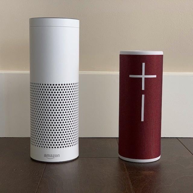 Amazon Echo vs. Ultimate Ears myBOOM 3 Wireless Speaker (BOOM 3)