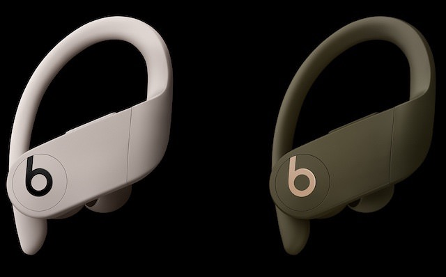 Beats PowerBeats Pro in ivory and moss