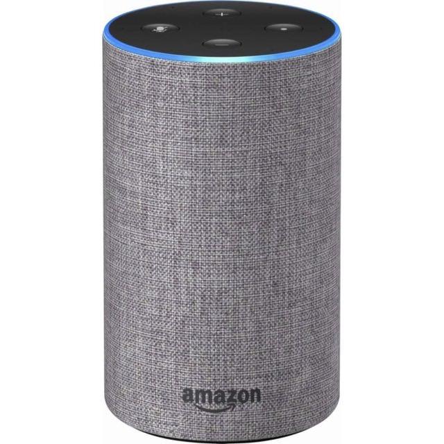 Amazon Echo 2nd gen in charcoal