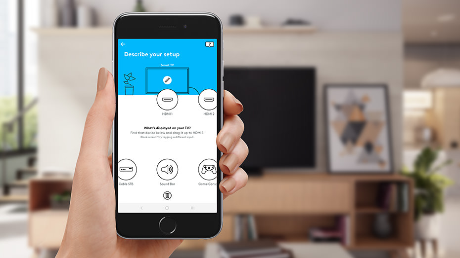 Logitech Harmony Express Mobile App Setup