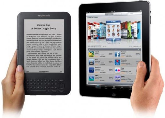 Kindle Vs Sony Reader: Apple IPad Vs. Amazon Kindle