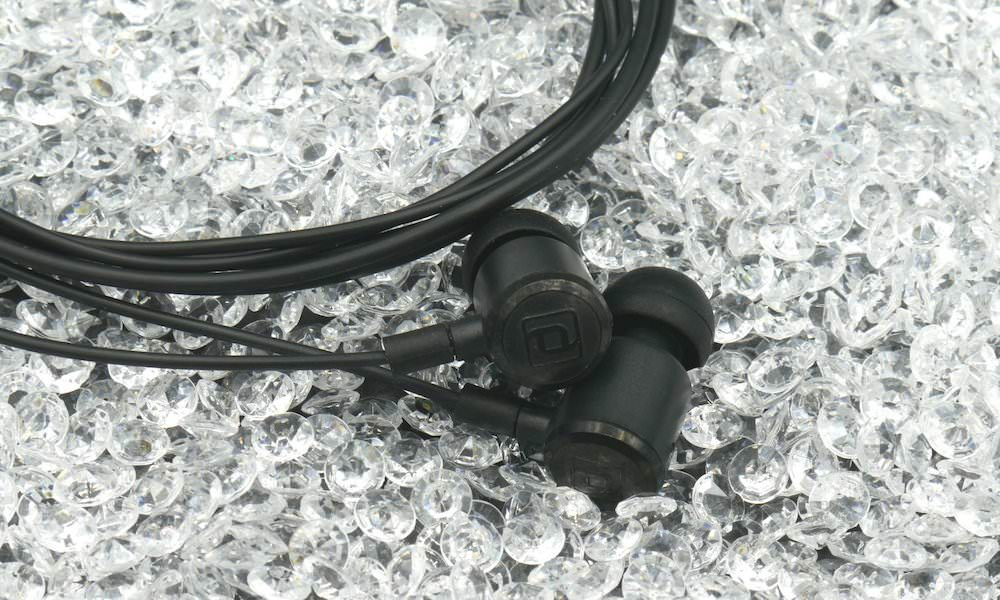 Period Audio Carbon IEM made with lab-grown diamonds