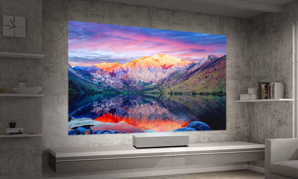 LG HU85LA CineBeam 4K Short-Throw Projector