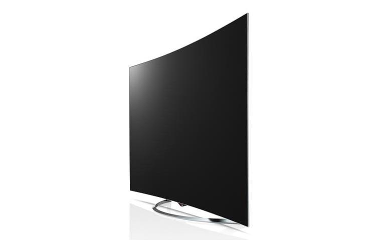 LG 65-inch Curved OLED 4K TV