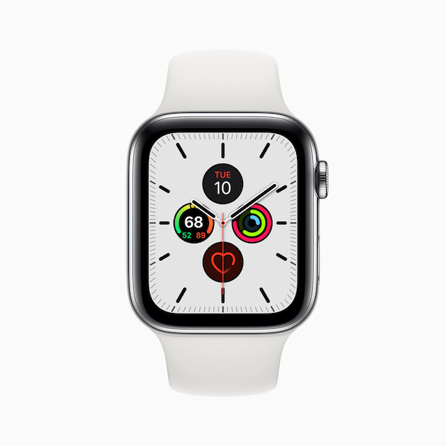 Apple Watch Series 5 New Meridian Face