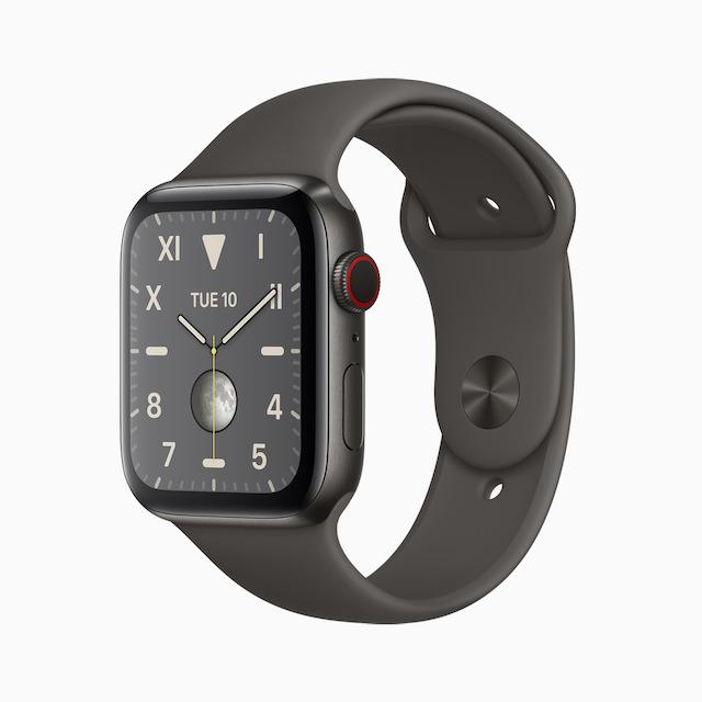 Apple Watch Series 5 Space Black Titanium