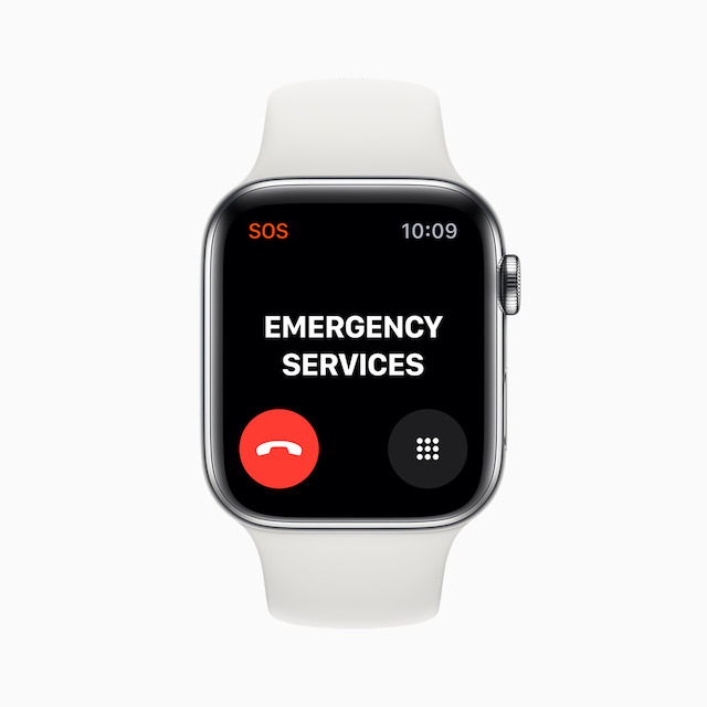 Apple Watch Series 5 International Emergency Calling