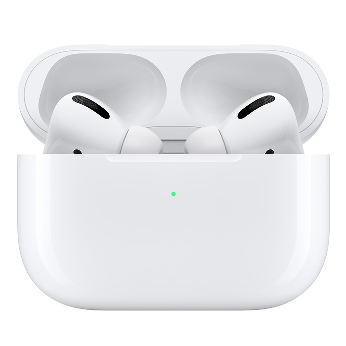 Apple AirPods Pro inside wireless charging case