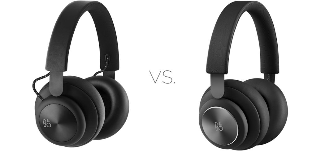 Bang & Olufsen Beoplay H4 Headphones 1st vs. 2nd Generation