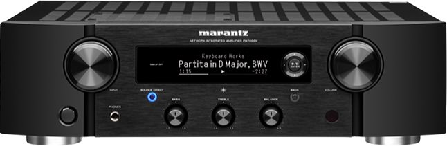 Marantz PM7000N Integrated Stereo Amplifier Front View