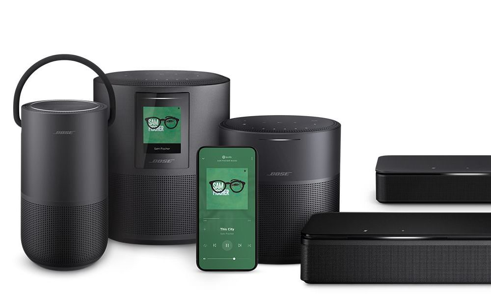 Bose Smart Speaker and Soundbar Family 2019