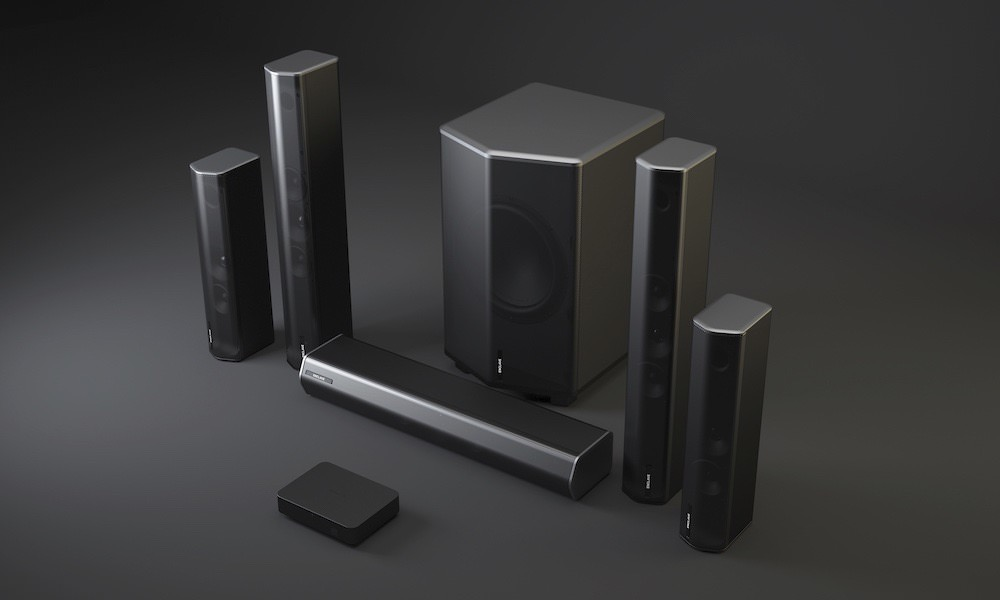 Enclave Audio CineHome PRO 5.1 Wireless Speaker System with WiSA and THX Certifications