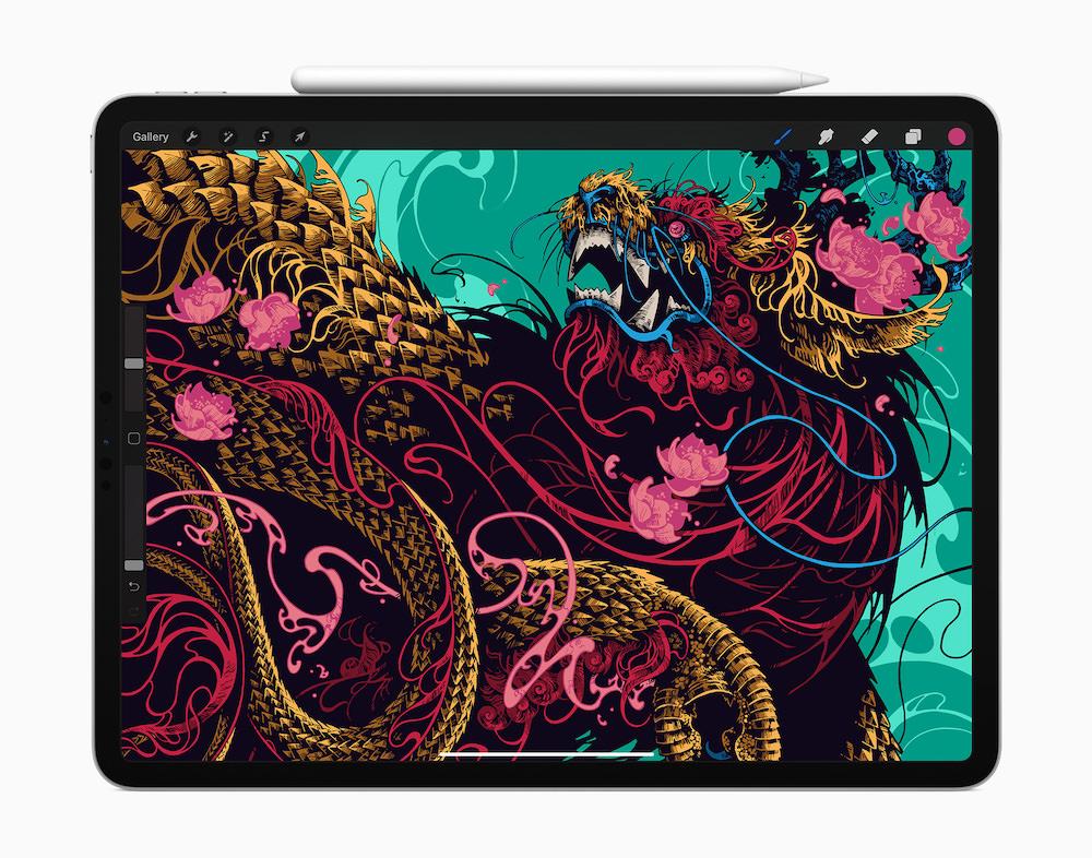 Apple iPad Pro (2020) with Apple Pencil