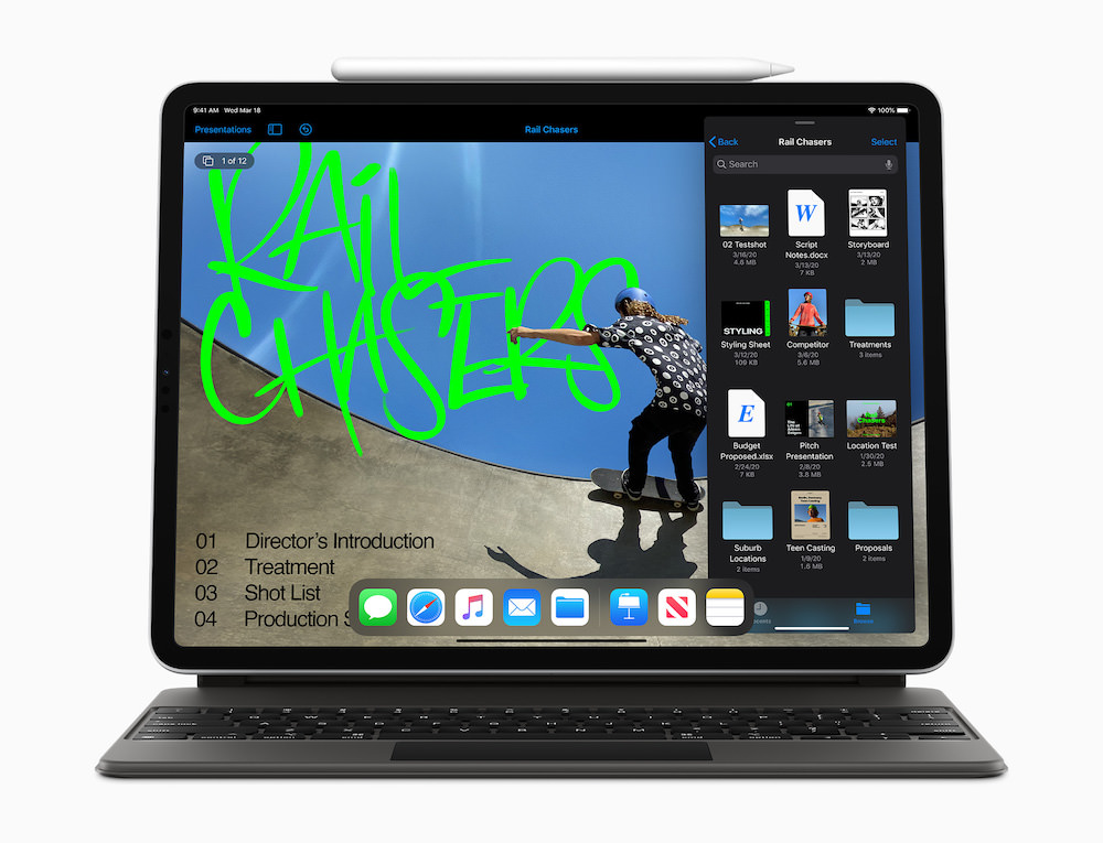 Apple iPad Pro (2020) with Pencil and Smart Keyboard Folio