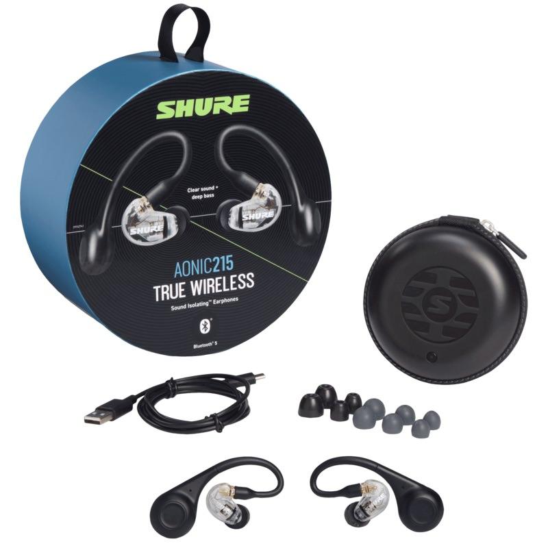shure-aonic-215-true-wireless-earphone-box-accessories