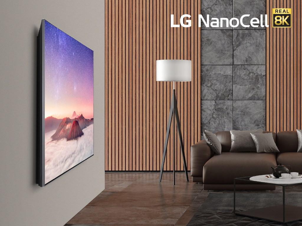 LG NanoCell 8K TV