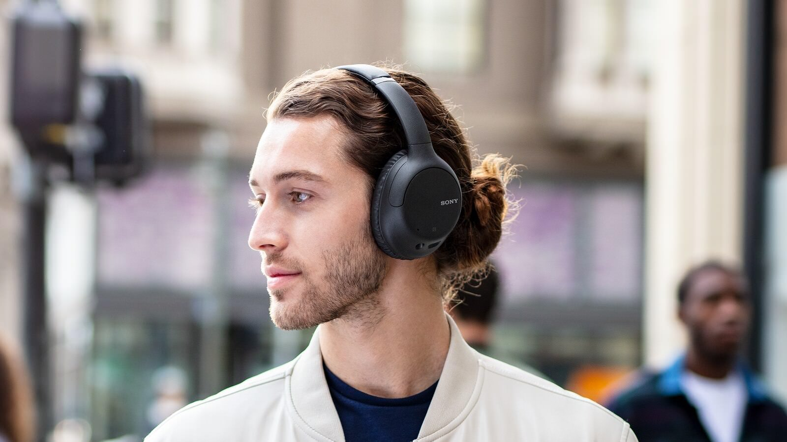 Sony WH-CH710N Noise Canceling Headphones - Lifestyle photo