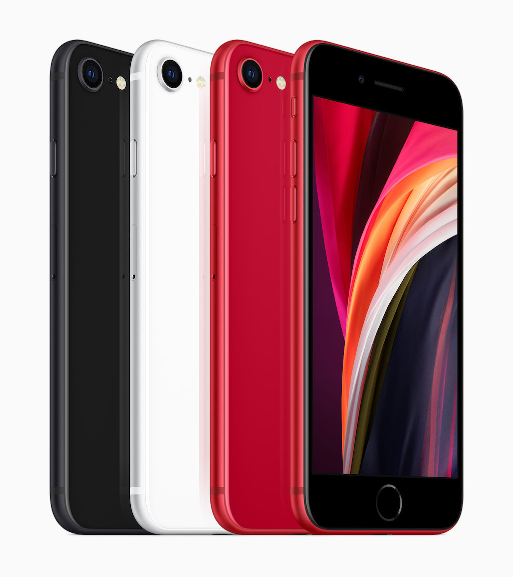 Apple iPhone SE Smartphone (2nd Generation, 2020 model) All Colors