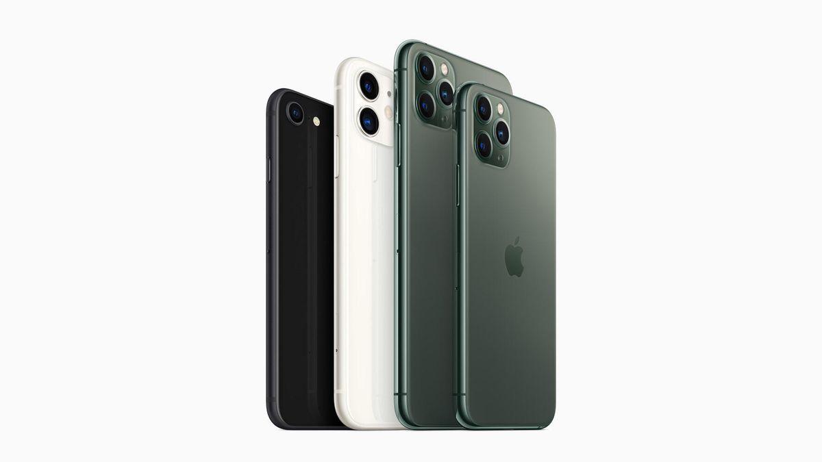 Apple iPhone SE, iPhone 11, iPhone 11 Pro and iPhone 11 Pro Max Smartphones (2019-2020 models)