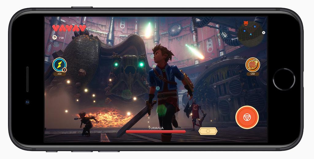 Apple Arcade Screen on iPhone SE (2nd Generation, 2020 model)
