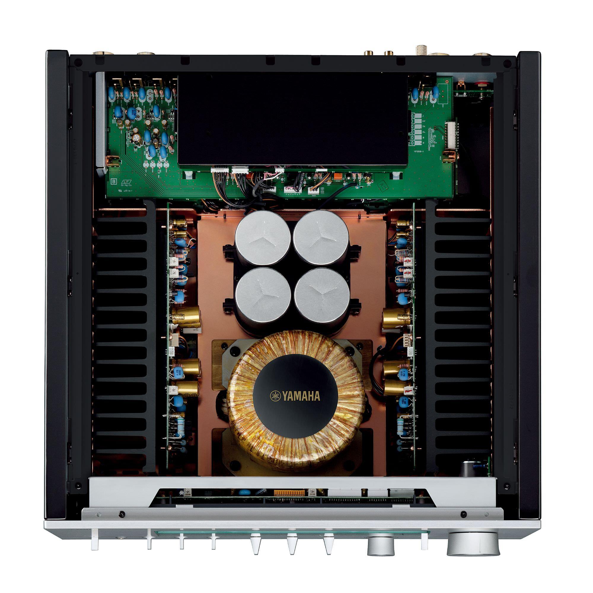 Yamaha A-S3200 Integrated Amplifier Interior