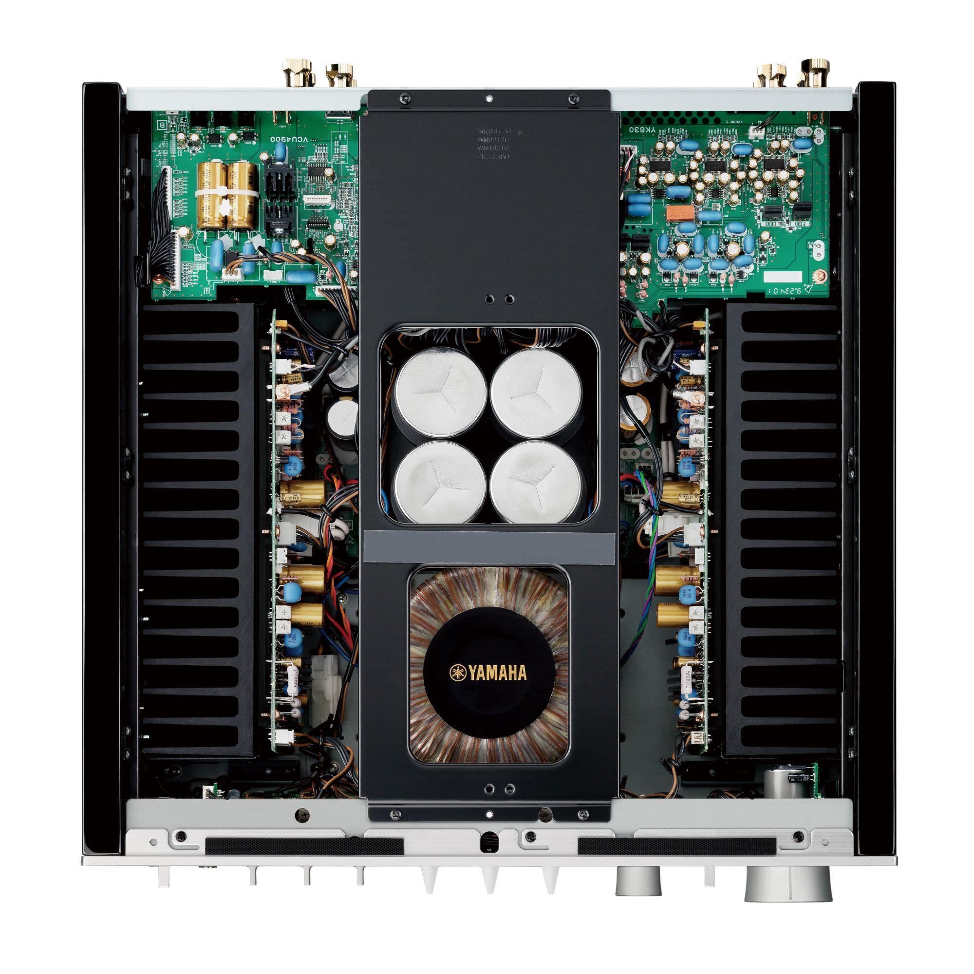 Yamaha A-S2200 Integrated Amplifier Interior