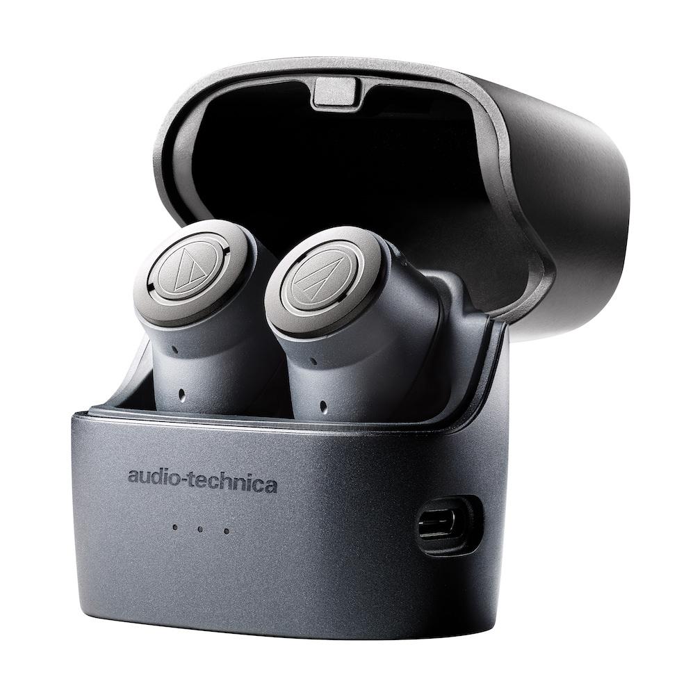 Audio-Technica ATH-ANC300TW QuietPoint Earphones in Charging Case