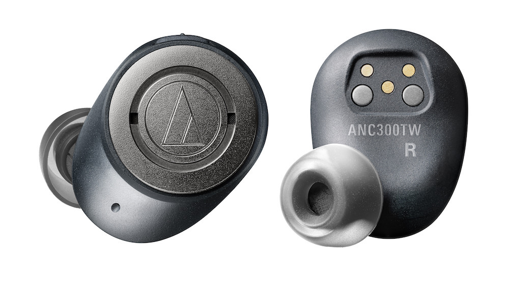 Audio-Technica ATH-ANC300TW QuietPoint Noise-Cancelling In-Ear Headphones