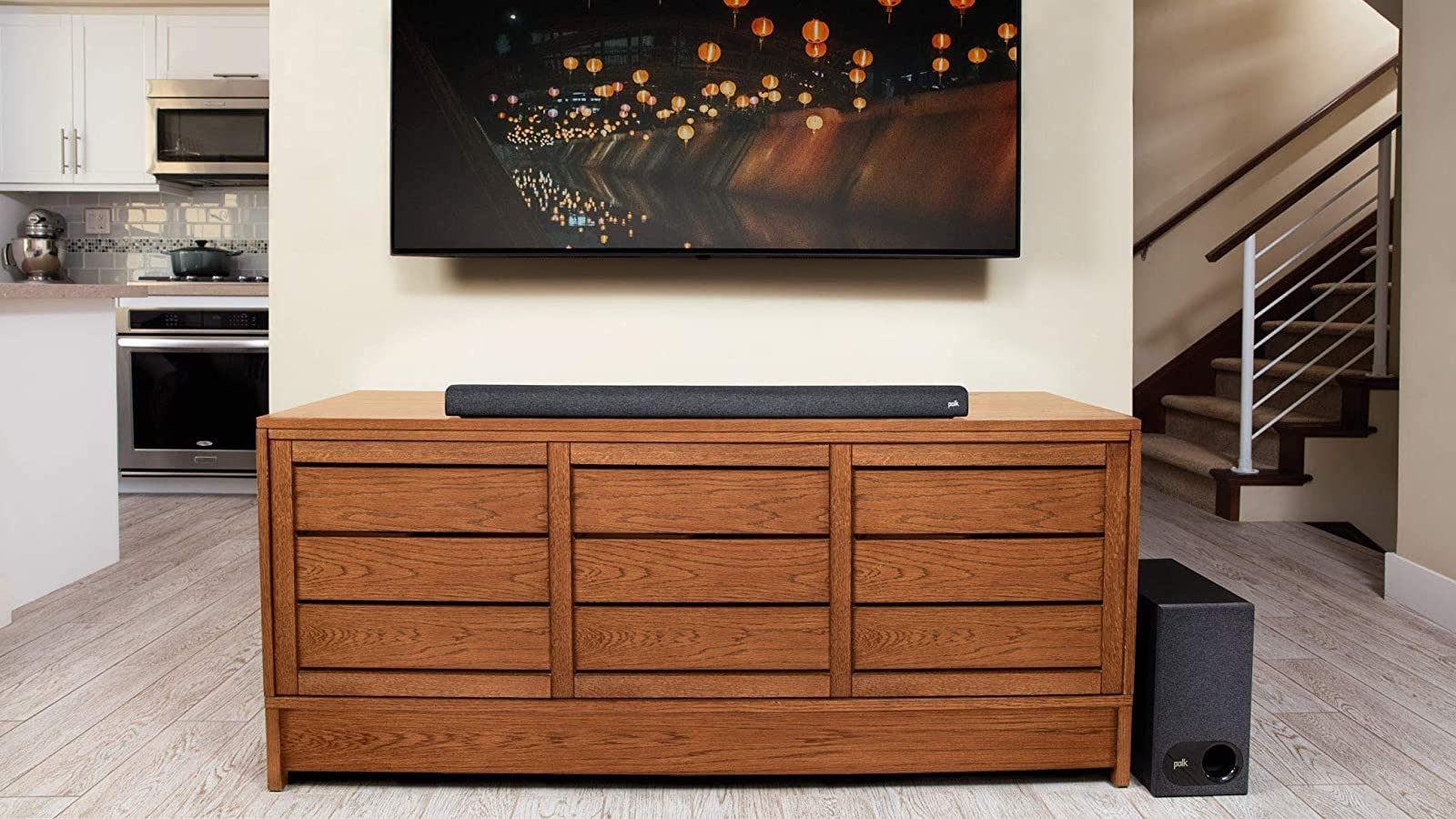 Polk Audio Signa S3 Sound Bar Under TV