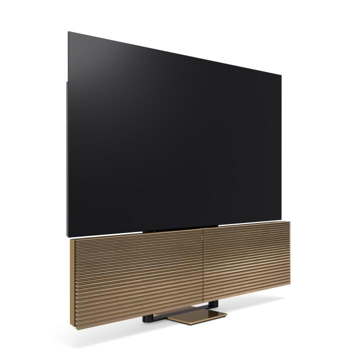 Bang & Olufsen Beovision Harmony 88-inch 8K OLED TV in Smoked Oak Finish