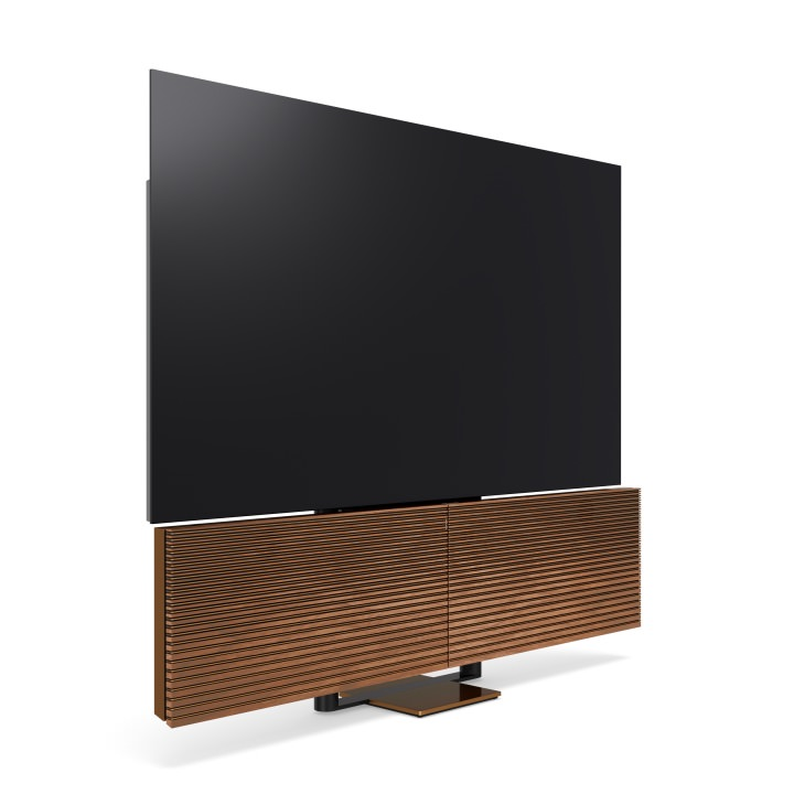 Bang & Olufsen Beovisiony 88-inch 8K OLED TV in Bronze Walnut Finish