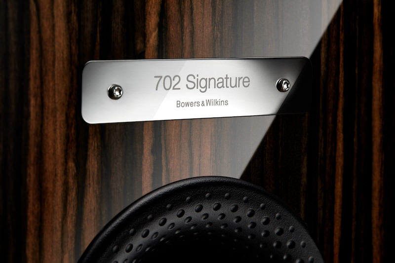 Bowers & Wilkins 702 Signature Name Plate