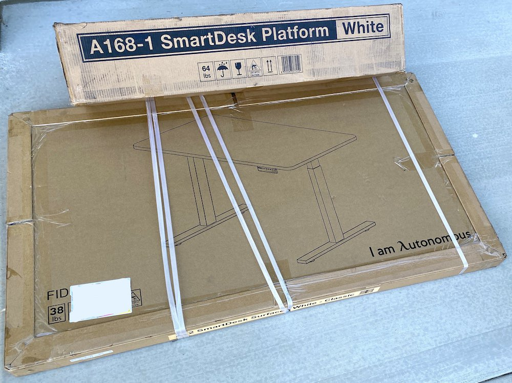 Autonomous SmartDesk2 Home Office Shipping Boxes