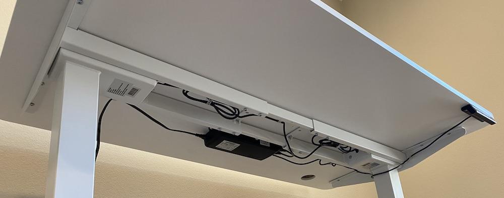 Autonomous Smartdesk 2 Underneath Wiring Concealment