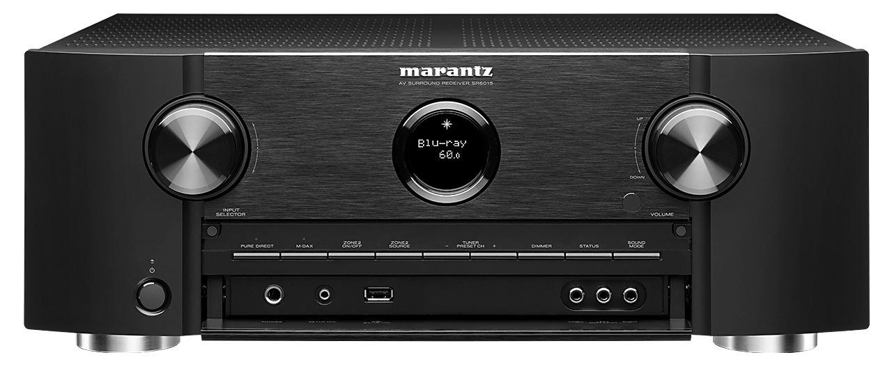 Marantz SR6015 A/V Receiver (Front View)