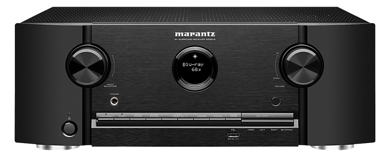 Marantz SR5015 A/V Receiver (Front View)
