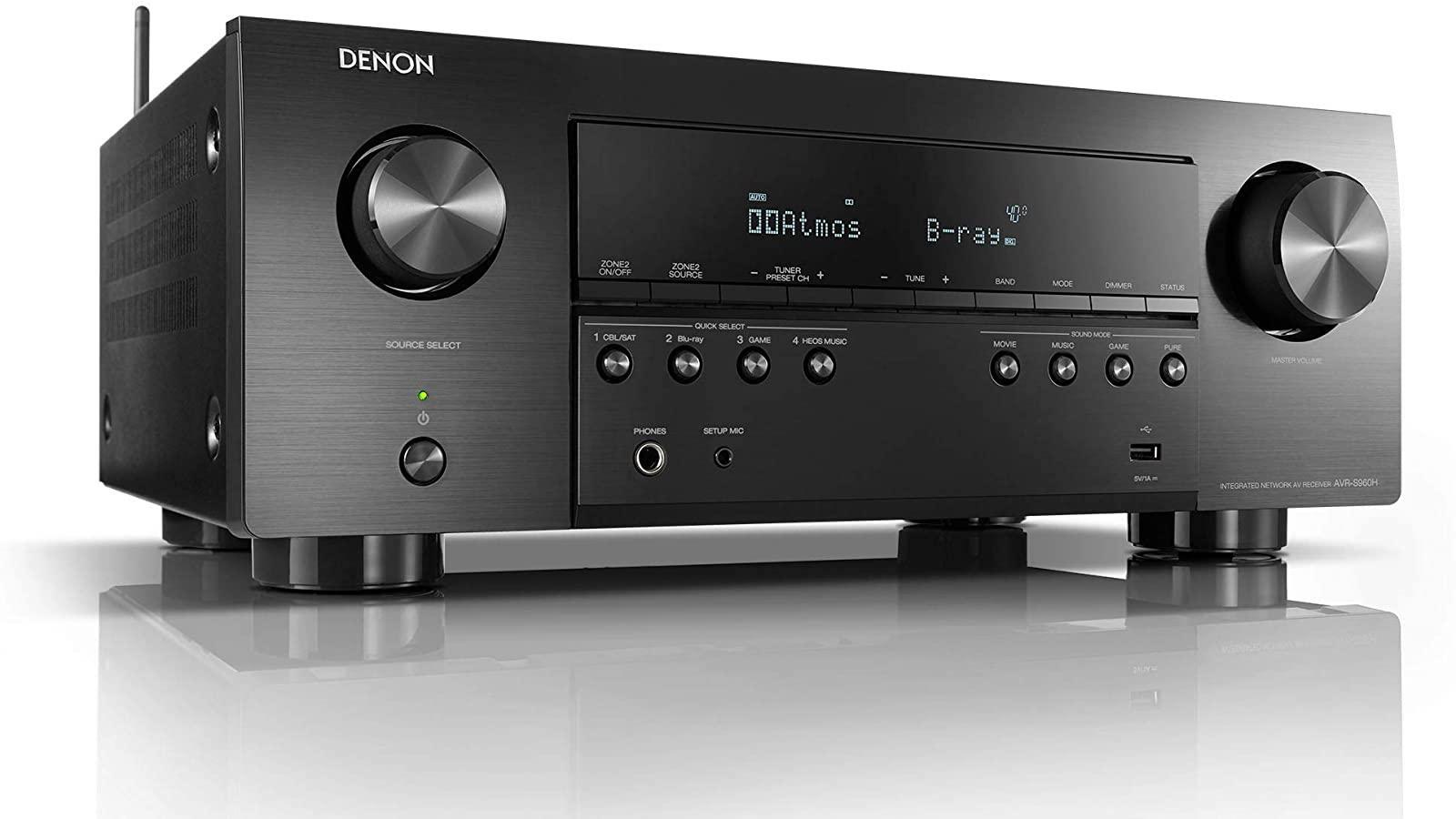 Denon AVR-S960H 8K A/V Receiver (2020)