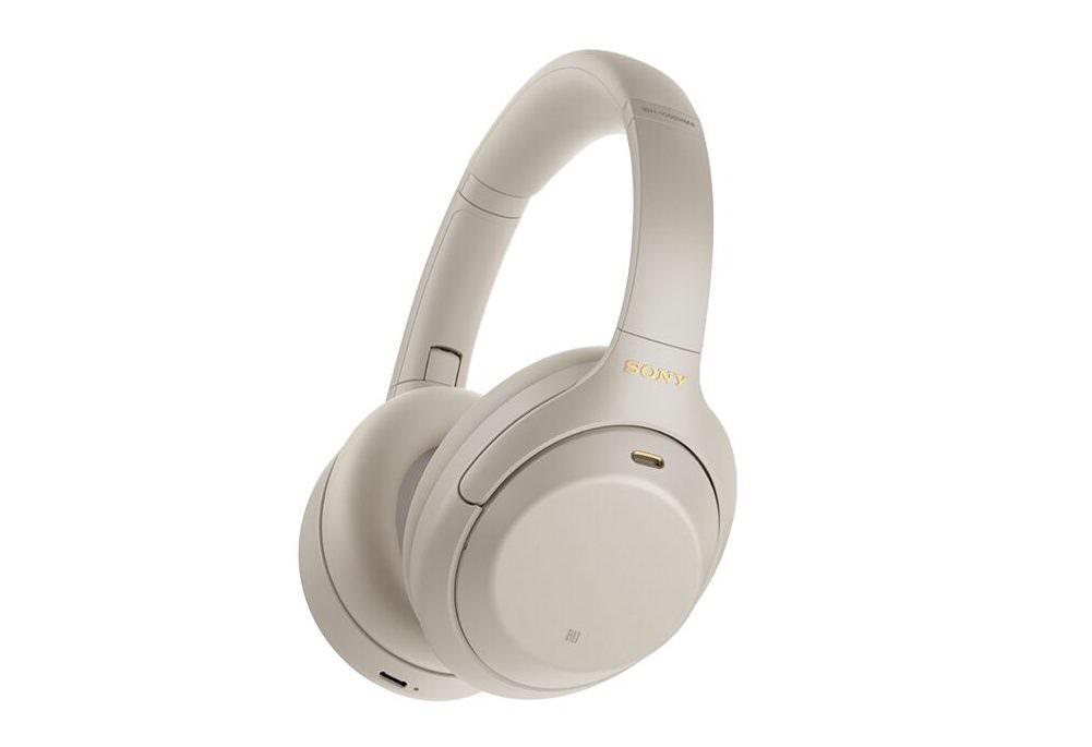 Sony WH-1000XM4 Wireless Noise Canceling Headphones (Silver)
