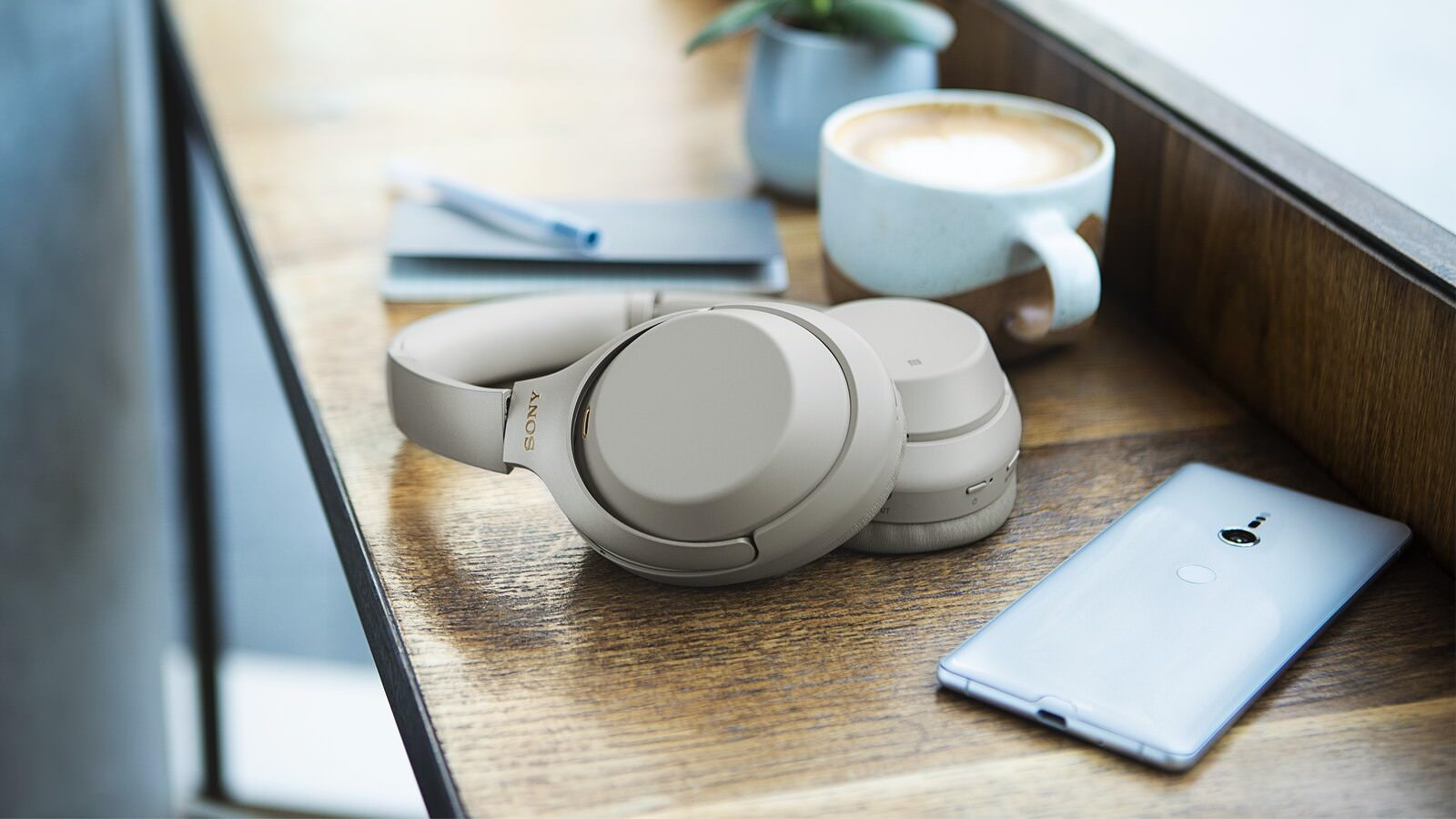 Sony Sony WH-1000XM3 Wireless Noise Cancelling Headphones in Silver