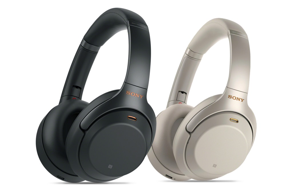 Sony Sony WH-1000XM3 Wireless Noise Cancelling Headphones in Black and Silver