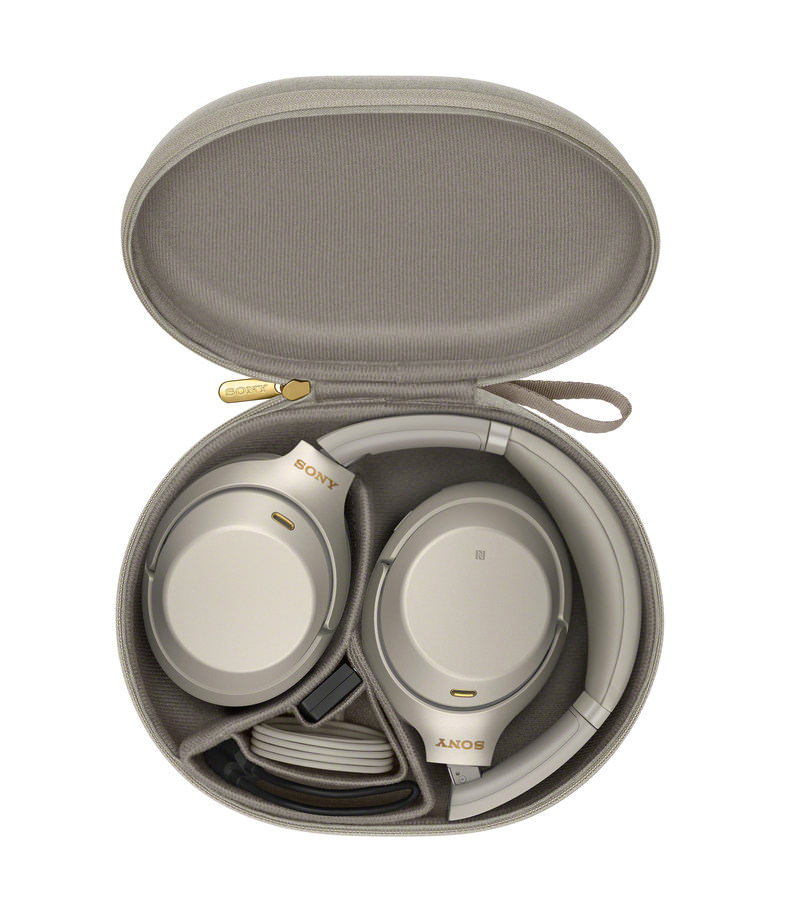 Sony Sony WH-1000XM3 Wireless Noise Cancelling Headphones in Carrying Case