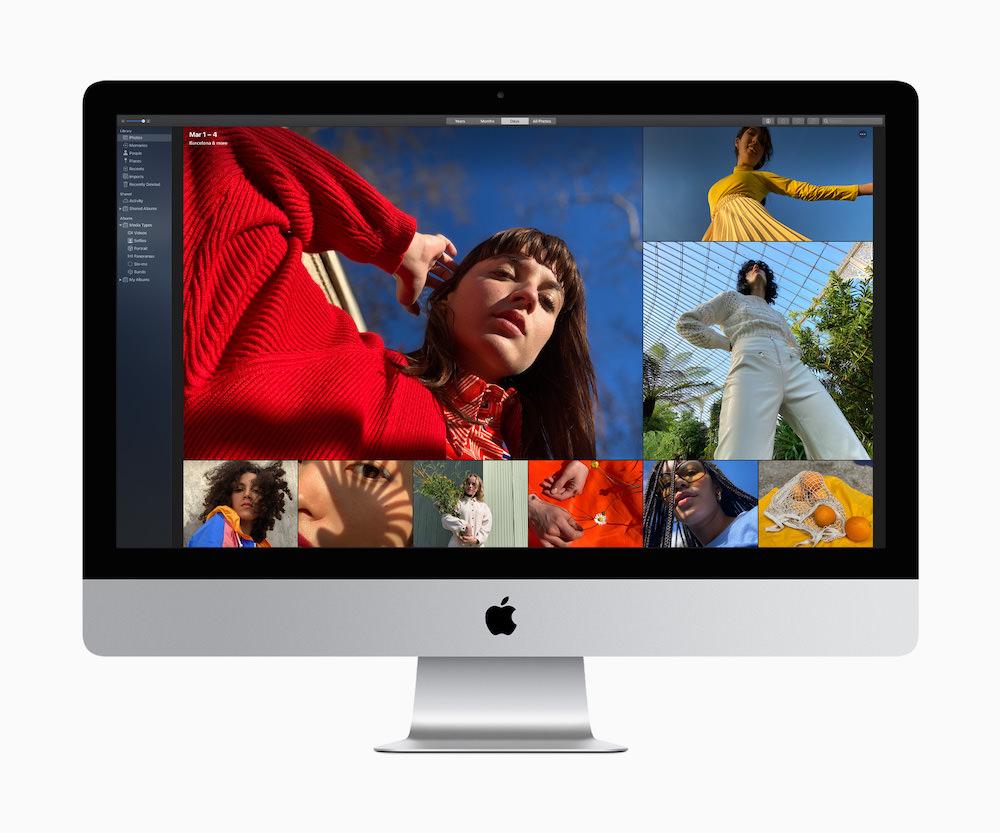 Apple iMac 27-inch (2020) macOS photos