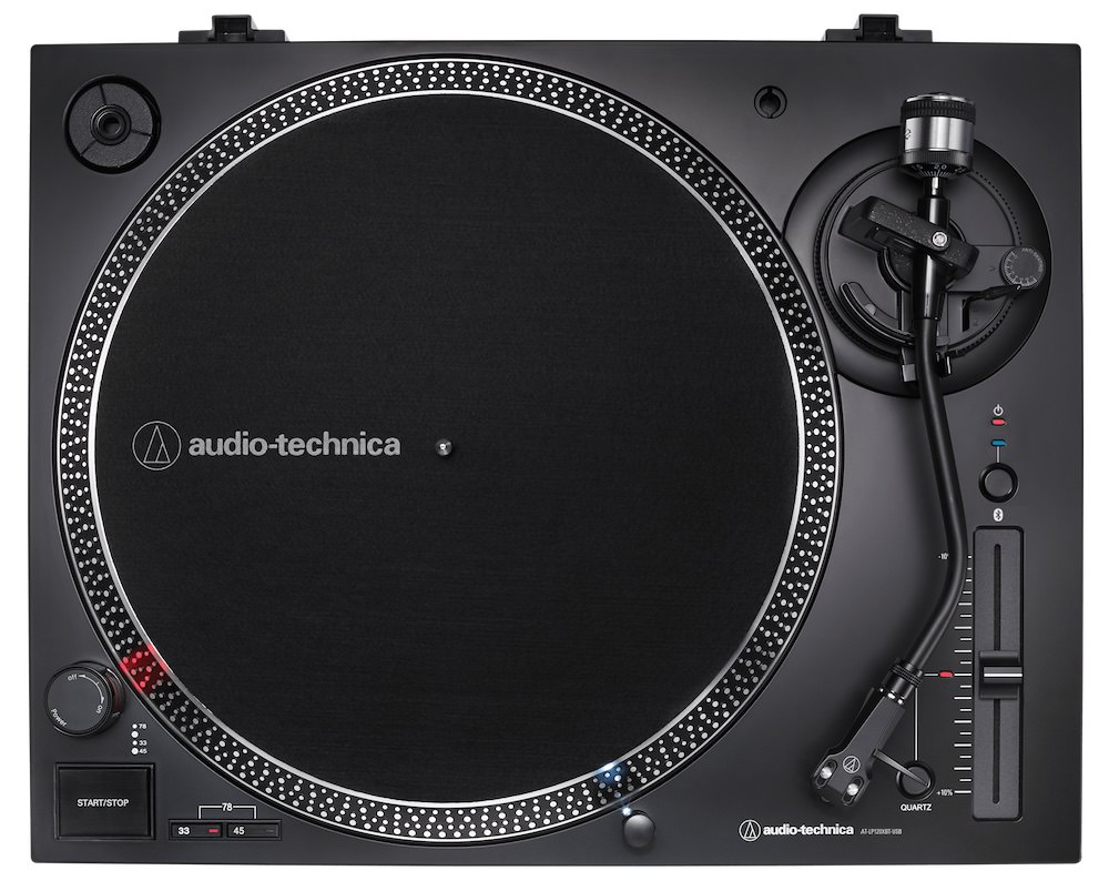 Audio-Technica AT-LP120XBT-USB Turntable Top