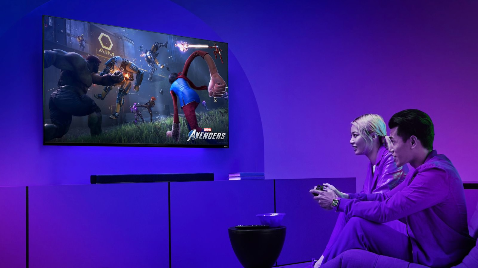 VIZIO Named the Official HDTV and Sound Bar Partner for the All-New Marvel's Avengers Video Game