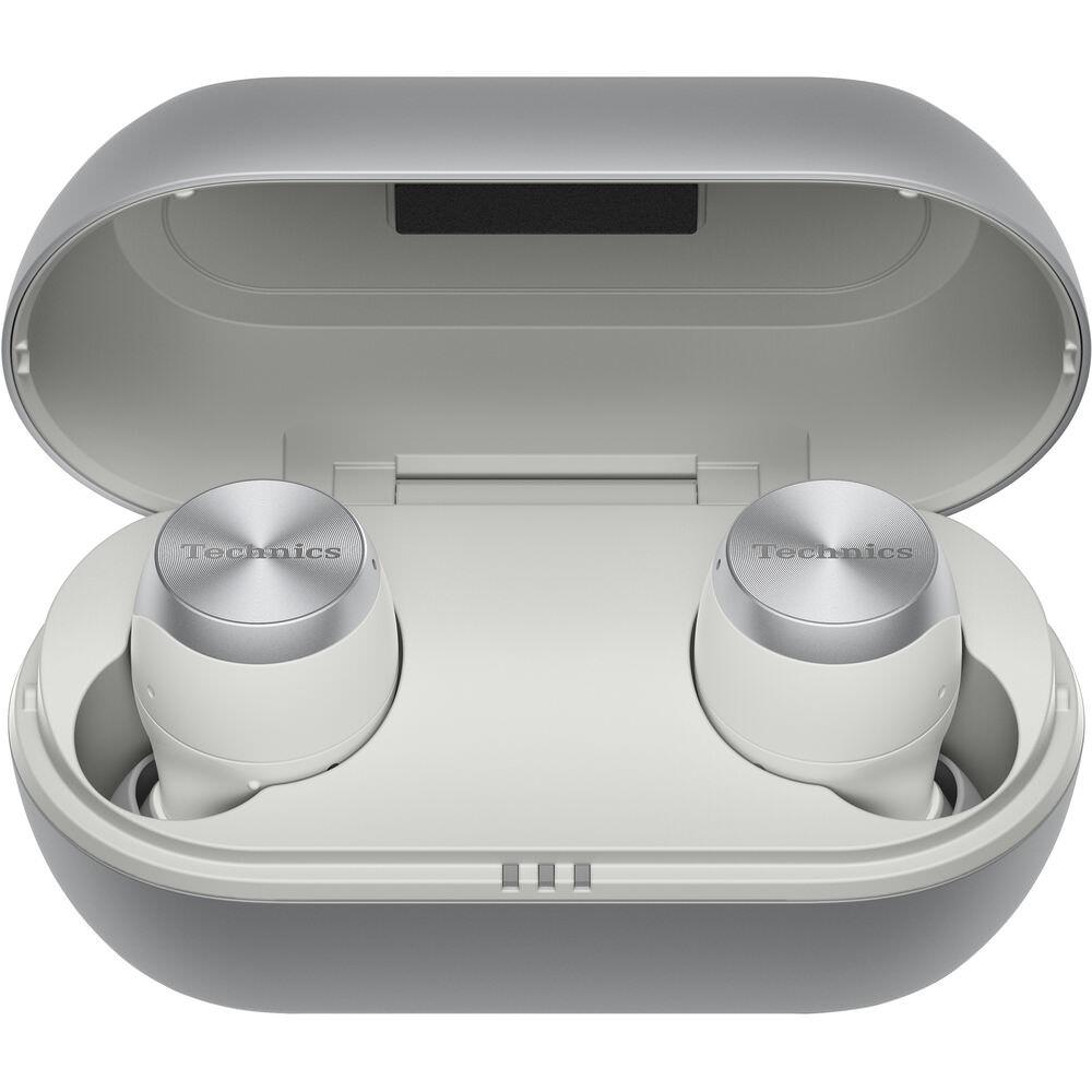 Technics EAH-AZ70W-S True Wireless Earbuds in Charging Case (Silver)