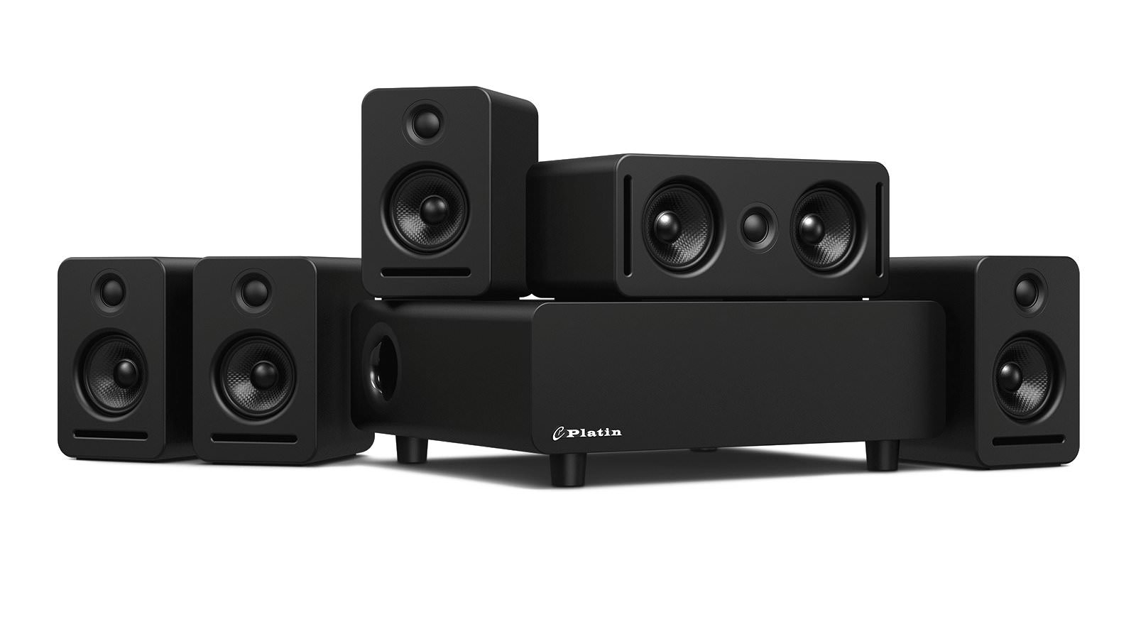 Platin Monaco 5.1 Wireless Wisa Speaker System
