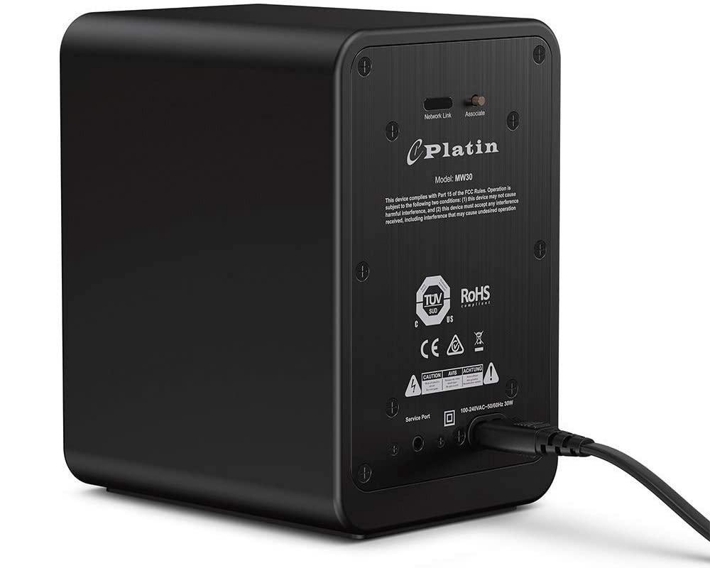 Platin MW30 Wireless Wisa Speaker Rear View