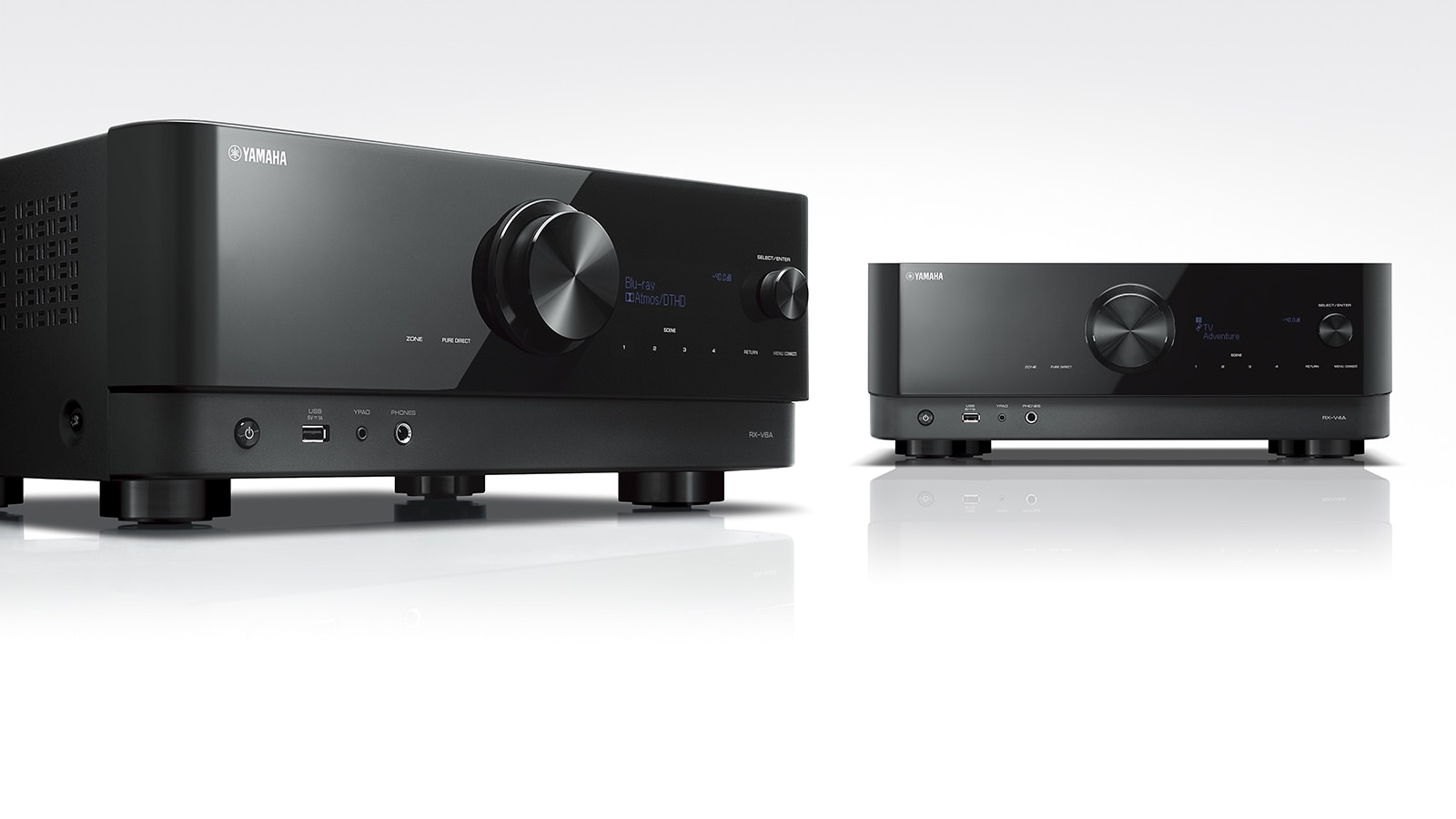 Yamaha RX-V6A and RX-V4A 8K A/V Receivers