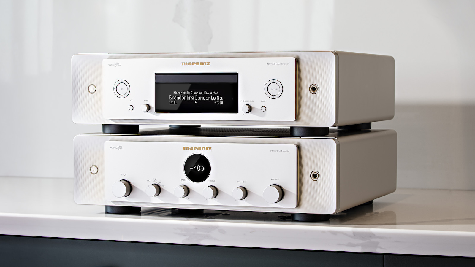 Marantz Model 30 Integrated Amplifier and SACD 30n