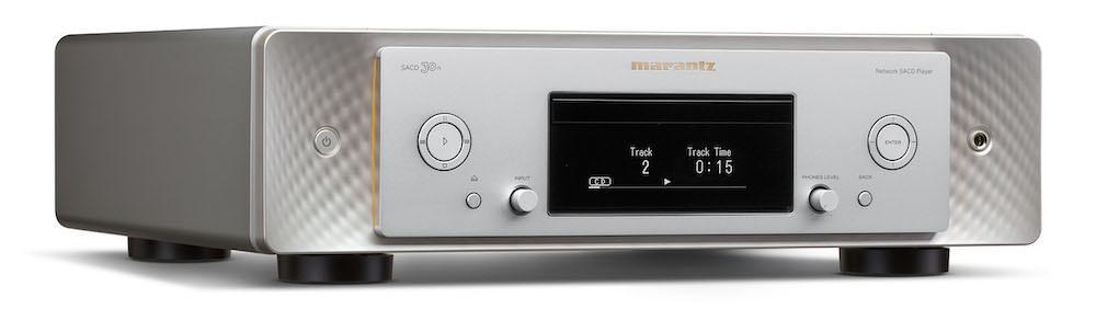 Marantz SACD 30n Network Audio Streamer and SACD Player Silver Gold